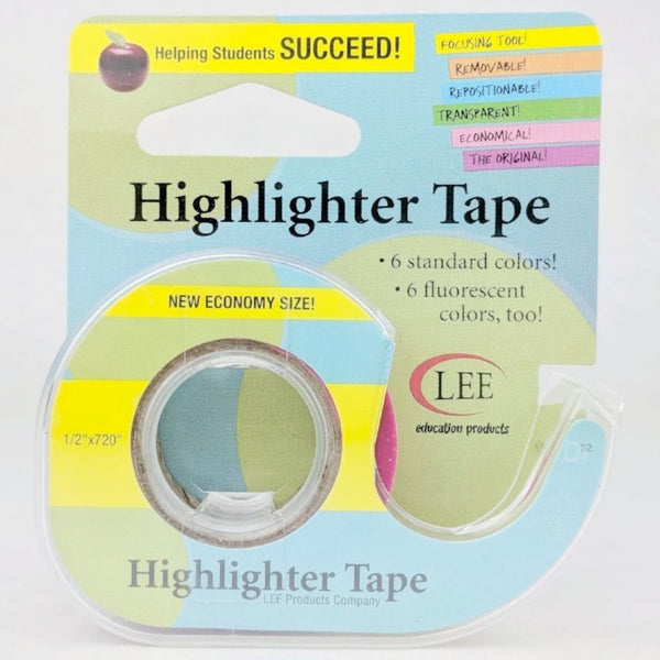 Highlighter Tape, assorted colors, ready to ship