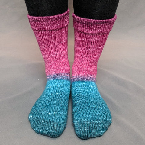 As You Wish Panoramic Gradient Matching Socks Set (large), Greatest of Ease, ready to ship - SALE