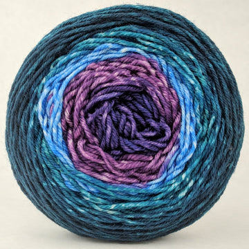 Knitcircus Yarns: Voyage of The Yarn Treader 100g Panoramic Gradient, Divine, ready to ship yarn