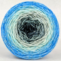 Knitcircus Yarns: April Skies 150g Panoramic Gradient, Divine, ready to ship yarn