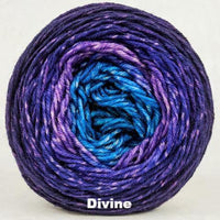 Knitcircus Yarns: The Knit Sky Panoramic Gradient, dyed to order yarn