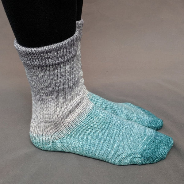 Knitcircus Yarns: Believe in Miracles Panoramic Gradient Matching Socks Set, dyed to order yarn