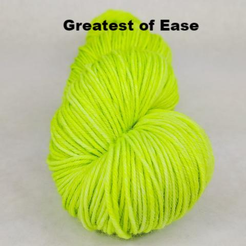 Knitcircus Yarns: Party Crasher Kettle-Dyed Semi-Solid skeins, dyed to order yarn
