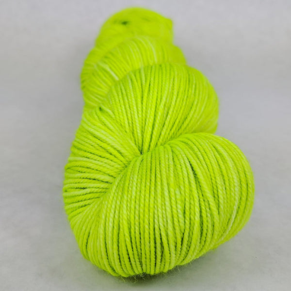 Knitcircus Yarns: Party Crasher 100g Kettle-Dyed Semi-Solid skein, Trampoline, ready to ship yarn