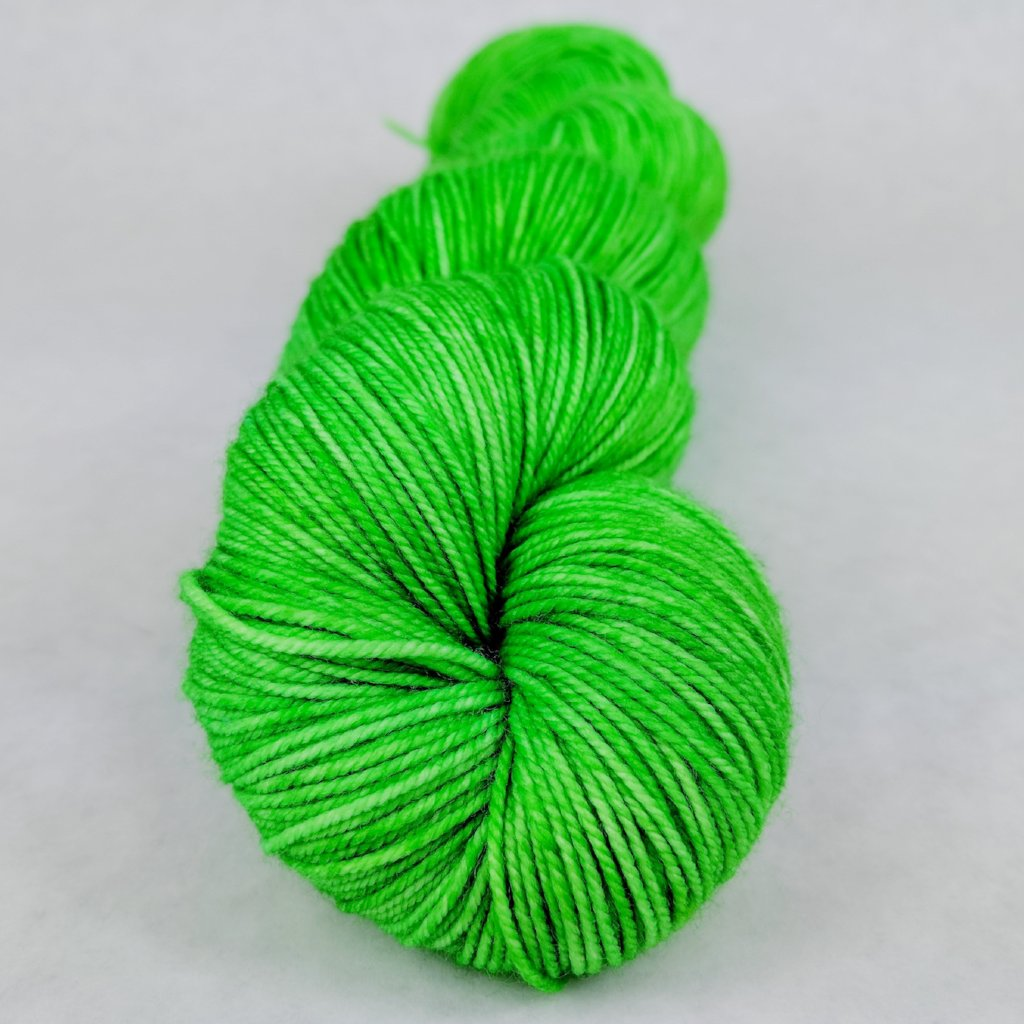 Backstage Pass 100g Kettle-Dyed Semi-Solid skein, Trampoline, ready to ship