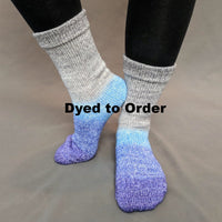 Knitcircus Yarns: Kindness is Everything Panoramic Gradient Matching Socks Set, dyed to order yarn