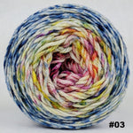 Knitcircus Yarns: Easy Peasy Lemon Squeezy 100g Impressionist Gradient, Ringmaster, choose your cake, ready to ship yarn
