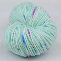Knitcircus Yarns: Space is Big. Really Big. 100g Speckled Handpaint, Trampoline, ready to ship - SALE
