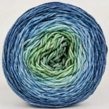 Knitcircus Yarns: Beach Glass 100g Panoramic Gradient, Divine, ready to ship yarn