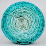 Knitcircus Yarns: Surf's Up Chromatic Gradient, dyed to order yarn