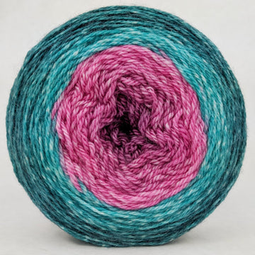 Knitcircus Yarns: As You Wish 100g Panoramic Gradient, Opulence, ready to ship - SALE