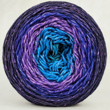Knitcircus Yarns: The Knit Sky 150g Panoramic Gradient, Divine, ready to ship yarn