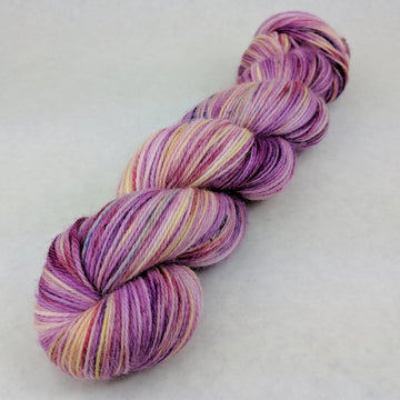 Knitcircus Yarns: And Many More 100g Speckled Handpaint skein, Corriedale, ready to ship - SALE