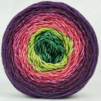 Knitcircus Yarns: Just Beet It 150g Panoramic Gradient, Divine, ready to ship yarn