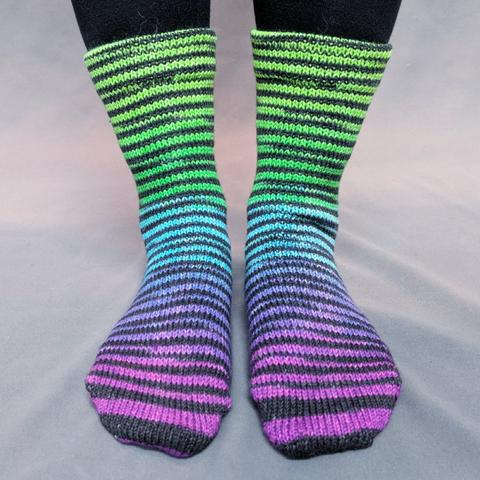 Electric Mayhem Extreme Striped Matching Socks Set (large), Greatest of Ease, ready to ship