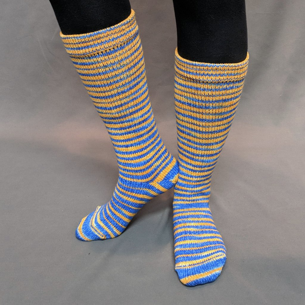 Brew Crew Gradient Striped Matching Socks Set (Large), Greatest of Ease, ready to ship