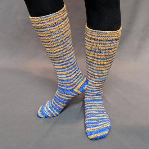 Brew Crew Gradient Striped Matching Socks Set (medium), Trampoline, ready to ship