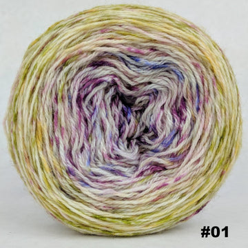 Knitcircus Yarns: Happy Happy Joy Joy 100g Impressionist Gradient, Corriedale, choose your cake, ready to ship yarn - SALE