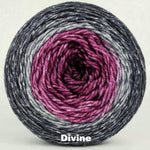 Knitcircus Yarns: What Happens At Knit Night... Panoramic Gradient, dyed to order yarn