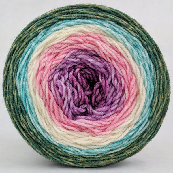 Knitcircus Yarns: Pocket Full Of Posies 150g Panoramic Gradient, Divine, ready to ship yarn