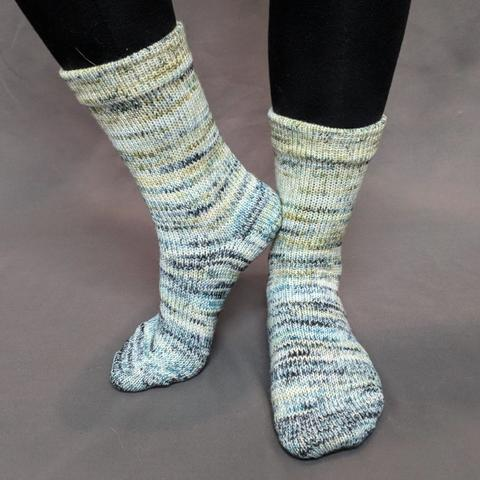 Wild Rumpus Impressionist Matching Socks Set (medium), Greatest of Ease, choose your cakes, ready to ship