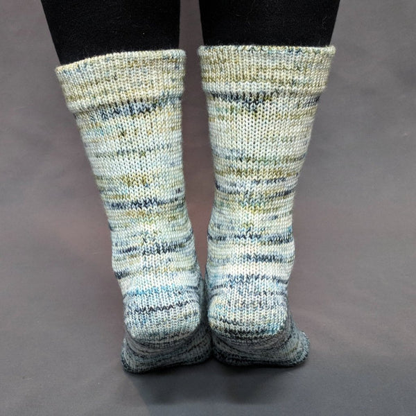 Knitcircus Yarns: Wild Rumpus Impressionist Gradient Matching Socks Set, dyed to order yarn