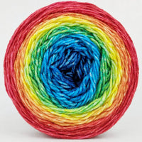 Knitcircus Yarns: Love Is Love 150g Panoramic Gradient, Divine, ready to ship yarn