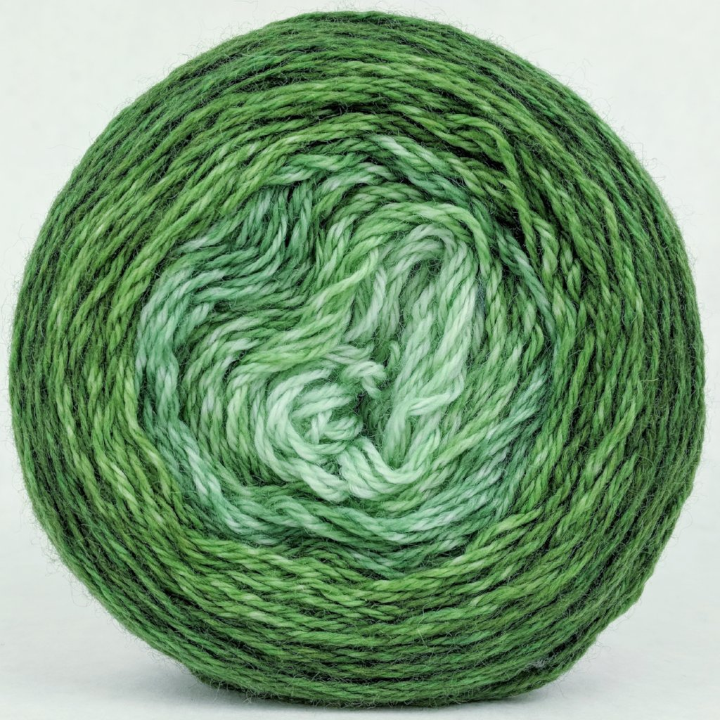 Mint Festival 100g Chromatic Gradient, Corriedale, ready to ship