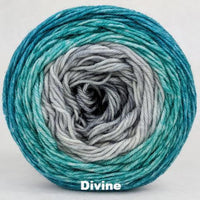 Knitcircus Yarns: Believe in Miracles Panoramic Gradient, dyed to order yarn