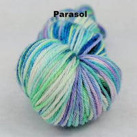 Knitcircus Yarns: Pegasus Handpainted Skeins, dyed to order yarn