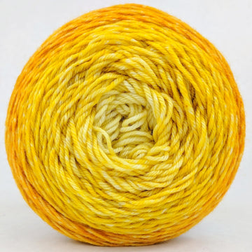 Knitcircus Yarns: All the Bacon and Eggs You Have 150g Chromatic Gradient, Divine, ready to ship yarn