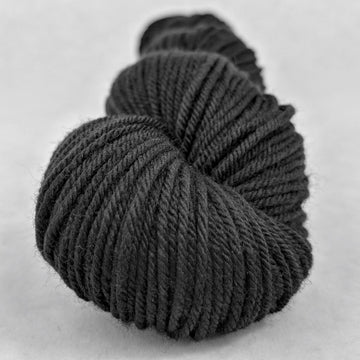 Knitcircus Yarns: Quoth the Raven 50g Kettle-Dyed Semi-Solid skein, Greatest of Ease, ready to ship yarn