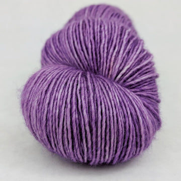 Knitcircus Yarns: Purple Palace 100g Kettle-Dyed Semi-Solid skein, Spectacular, ready to ship yarn