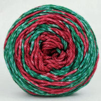 Knitcircus Yarns: Under the Mistletoe 100g Gradient Stripes, Ringmaster, ready to ship yarn