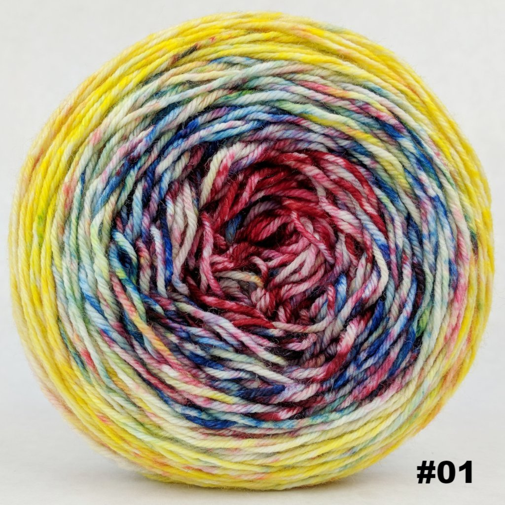 Pippi Longstocking 150g Impressionist Gradient, Divine, choose your cake, ready to ship