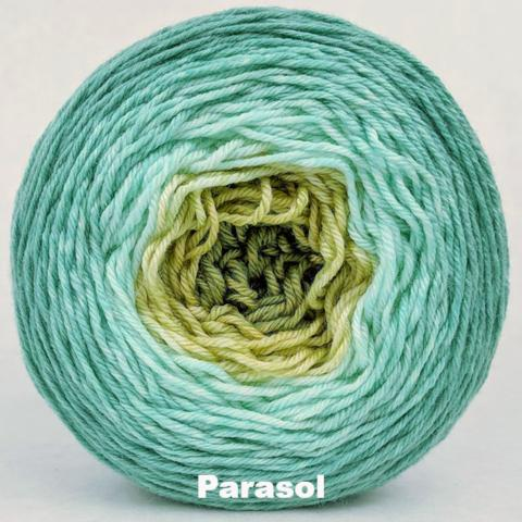 Knitcircus Yarns: Release the Kraken Panoramic Gradient, dyed to order yarn