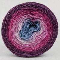 Knitcircus Yarns: Paris is Always a Good Idea 100g Panoramic Gradient, Opulence, ready to ship yarn