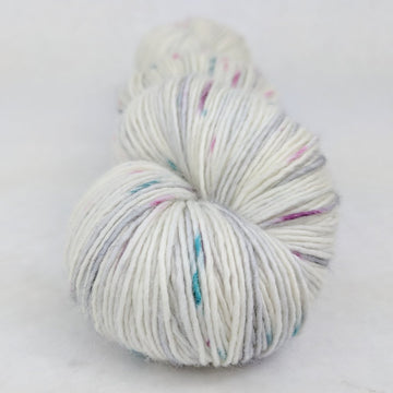 Knitcircus Yarns: As You Wish 100g Speckled Handpaint skein, Spectacular, ready to ship yarn - SALE