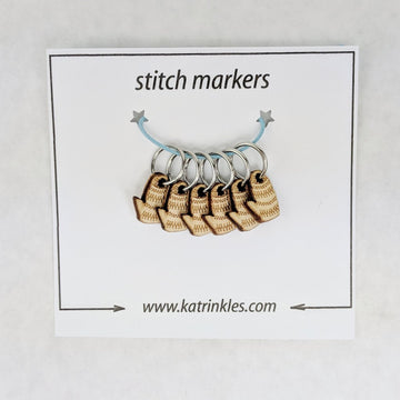Mitten Ring Markers, 6 pack, ready to ship