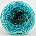 Knitcircus Yarns: Hello Beautiful Panoramic Gradient, dyed to order yarn
