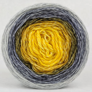 Knitcircus Yarns: Brass and Steam 100g Panoramic Gradient, Corriedale, ready to ship yarn - SALE