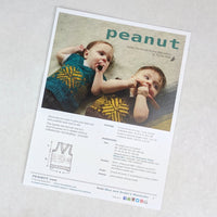Pattern - Peanut, by Tin Can Knits, ready to ship