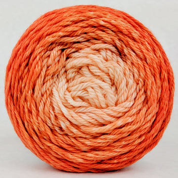 Knitcircus Yarns: Orange You Glad 100g Chromatic Gradient, Ringmaster, ready to ship yarn