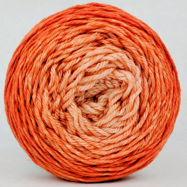 Knitcircus Yarns: Orange You Glad 150g Chromatic Gradient, Ringmaster, ready to ship yarn - SALE