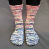 Easy Peasy Lemon Squeezy Impressionist Gradient Matching Socks Set, dyed to order