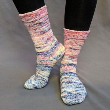 Knitcircus Yarns: Easy Peasy Lemon Squeezy Impressionist Matching Socks Set (large), Greatest of Ease, choose your cakes, ready to ship yarn