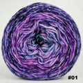 Knitcircus Yarns: The Knit Sky 100g Impressionist Gradient, Corriedale, choose your cake, ready to ship yarn