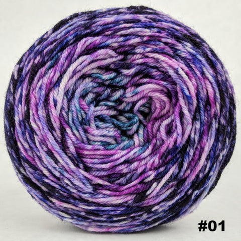 The Knit Sky 100g Impressionist Gradient, Divine, choose your cake, ready to ship