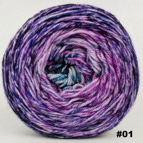The Knit Sky 100g Impressionist Gradient, Opulence, choose your cake, ready to ship
