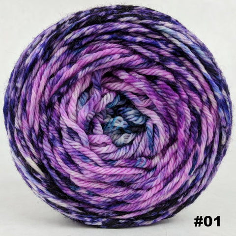 The Knit Sky 100g Impressionist Gradient, Ringmaster, choose your cake, ready to ship